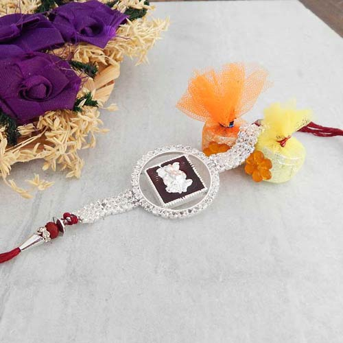Admirable Ganesh ji Rakhi - USA Delivery Only