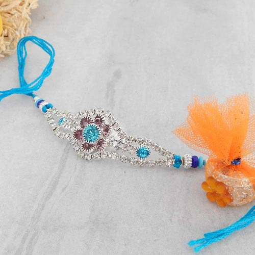 Winsome Elegant Rakhi - USA Delivery Only