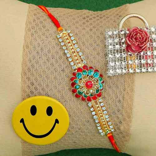 Amiable Rakhi Thread - USA Delivery Only