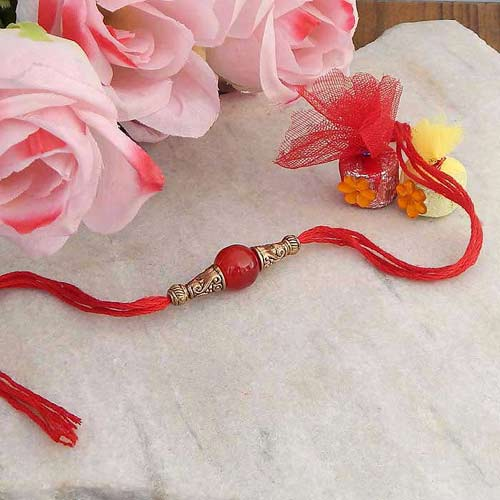 Blissful Rakhi Thread - USA Delivery Only