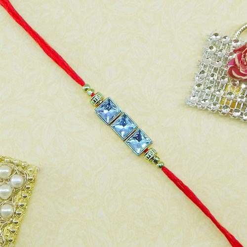 Engrossing Rakhi - USA Delivery Only