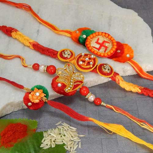 Rakhi Set - 20 - USA Delivery Only