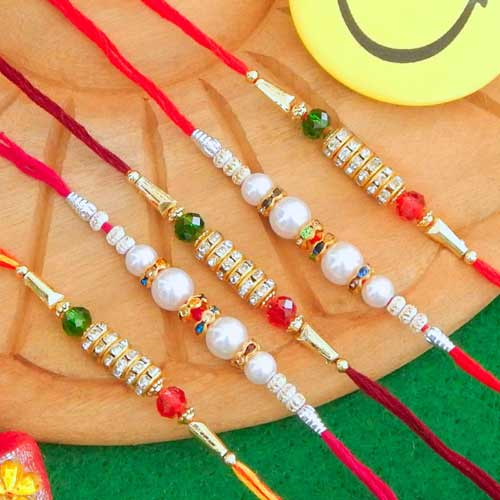 Rakhi Set - 06 - USA Delivery Only