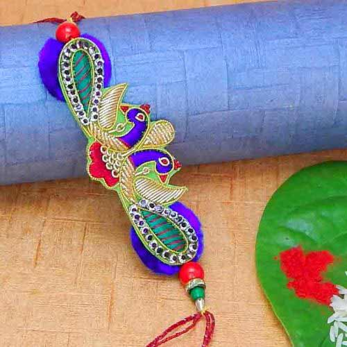 Royal Peacock Rakhi
