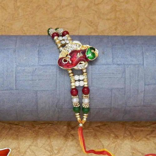 Lord Ganesha With Trunk Rakhi