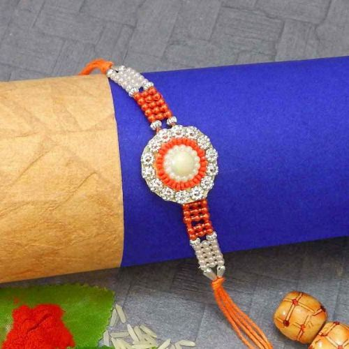 Enticing Crystal Rakhi