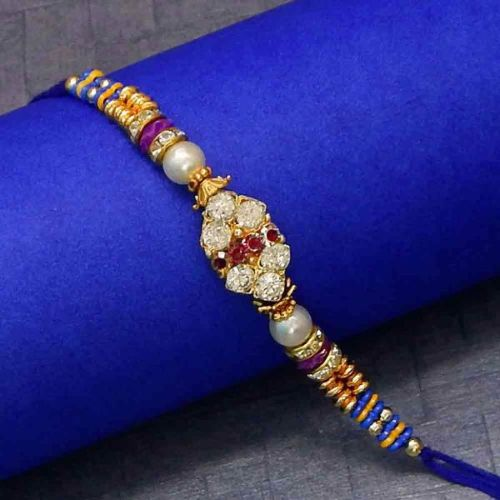 Yellow Alluring Rakhi Thread