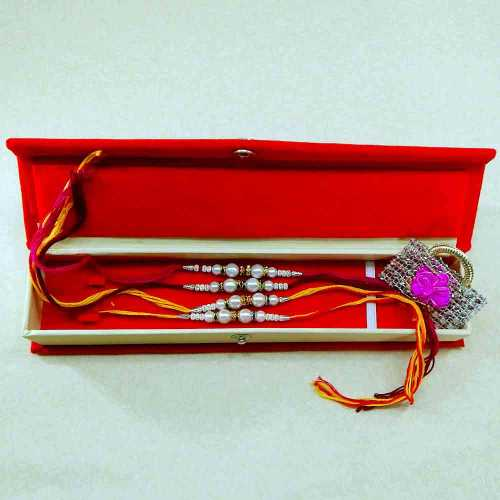 Rakhi Set - 05 With Rakhi Gift Box