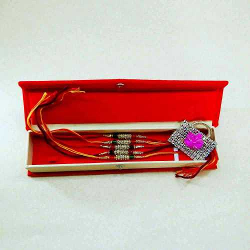 Rakhi Set - 04 With Rakhi Gift Box