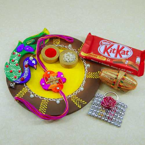 Shimmering Stones Puja Thali