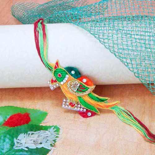 Elegant Bird Rakhi - UK Delivery Only