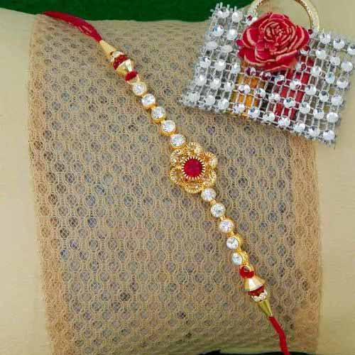 Enticing Floral Rakhi