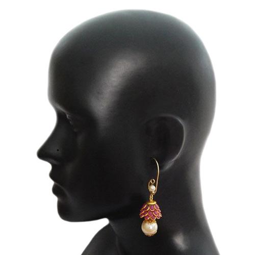 Beautiful Maroon Earrings