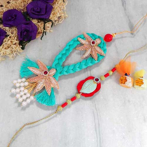 Best Rakhi Lumba Set - UK Delivery Only