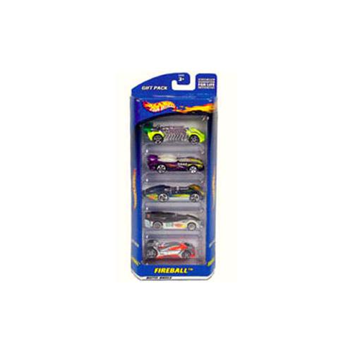 5 Hotweels Car Pack