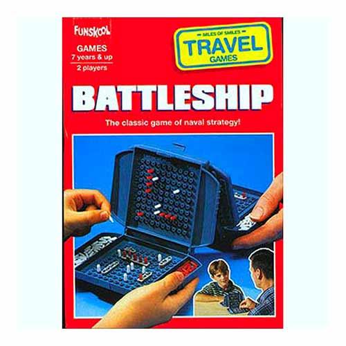 Battleship Travel Pack