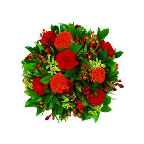 Red Rose Posy - UK Only