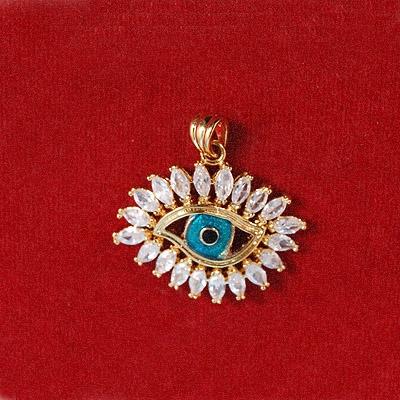 Evil Eye Zircon Pendant