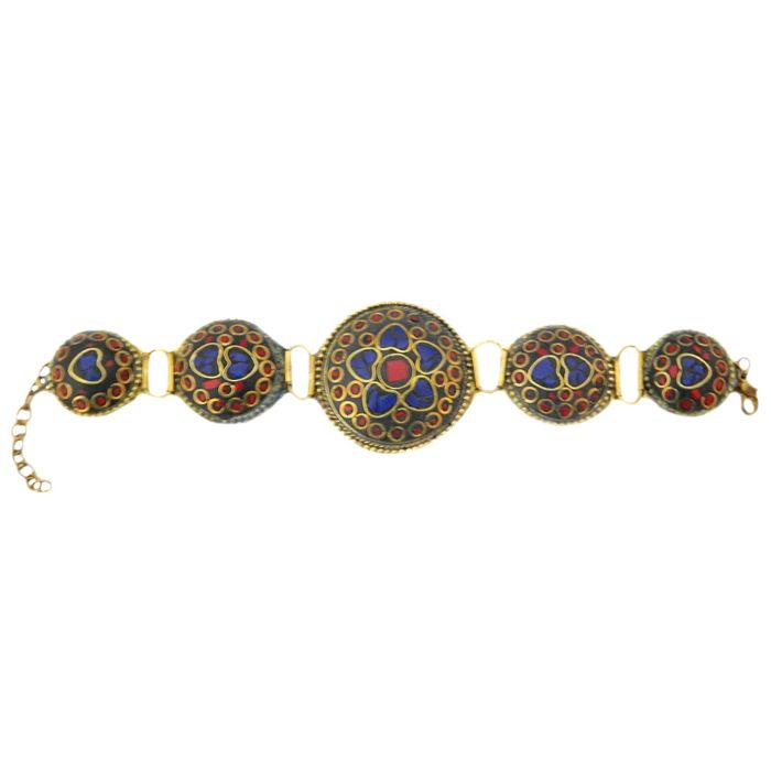 Meenakari Metal Bracelet