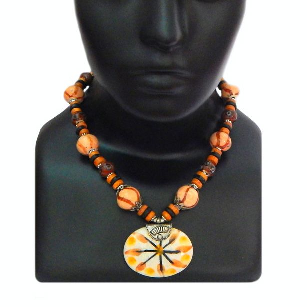 Round Flowered Necklace