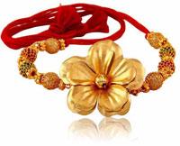 Gold Rakhi